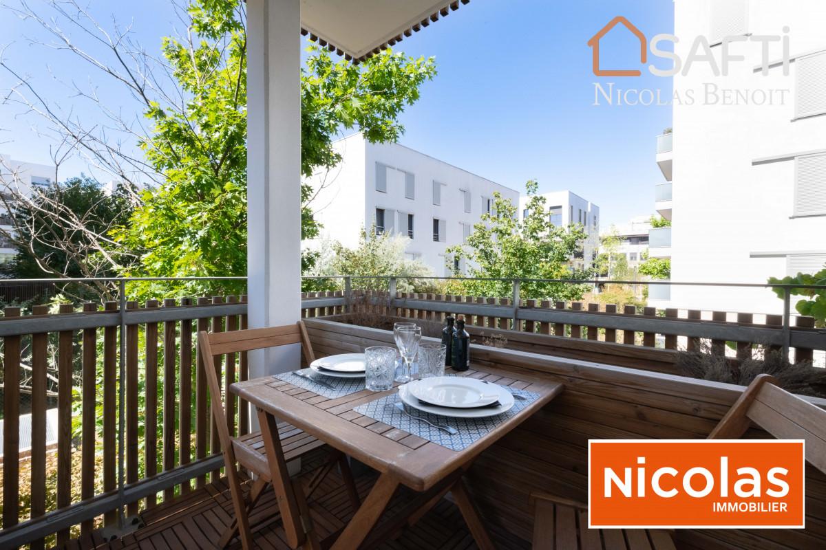 appartement Massy Atlantis rue Ampère, appartement 3 pièces avec terrasse