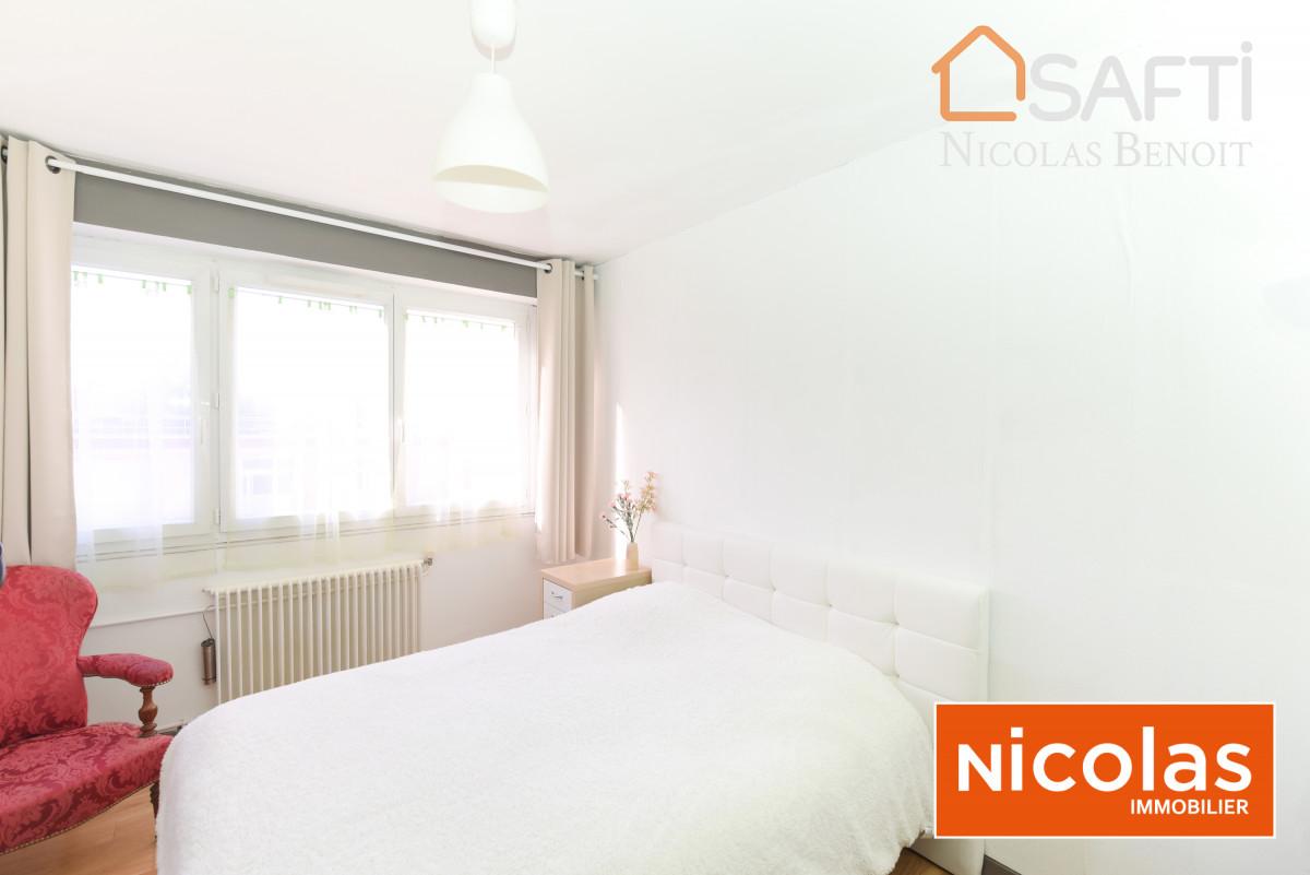 appartement NICOLAS Immobilier vend à Massy Villaine, appartement 4 pièces sans vis à vis