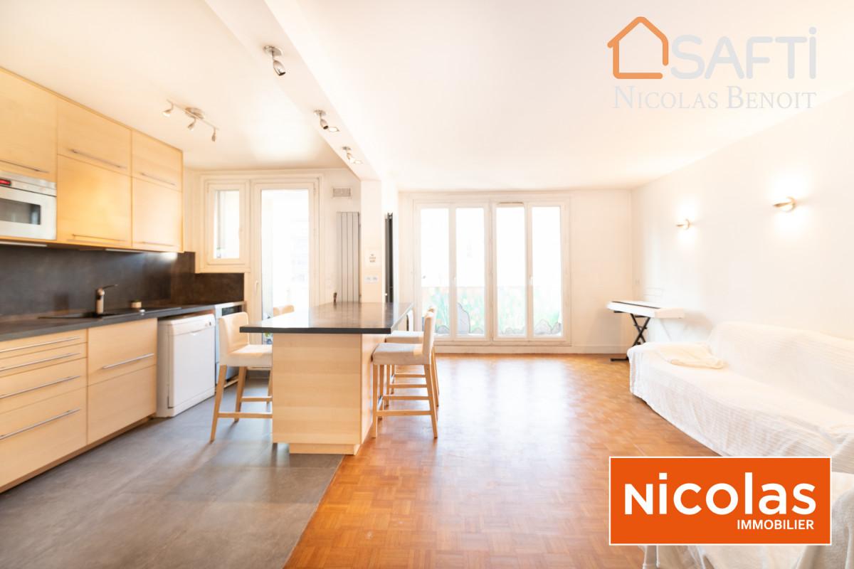 appartement Porte d'Orléans - appartement 86m2 avec parking et cave
