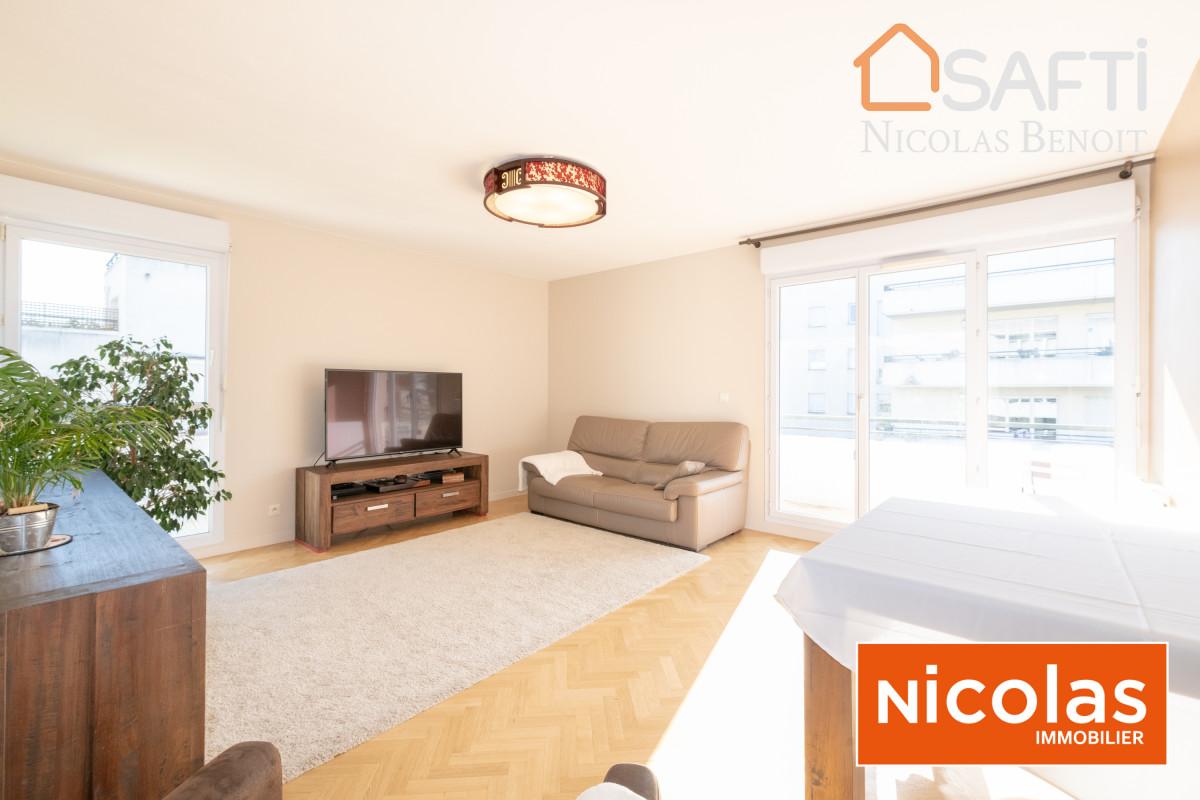 Massy appartement NICOLAS - MASSY VILMORIN Appartement 4 pièces 1 cave 2 parkings