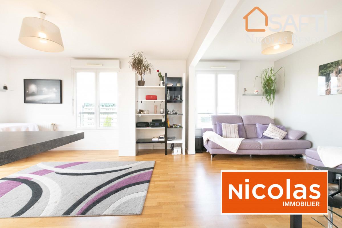 appartement NICOLAS - MASSY ATLANTIS, appartement 5 pièces dernier étage de 97m2