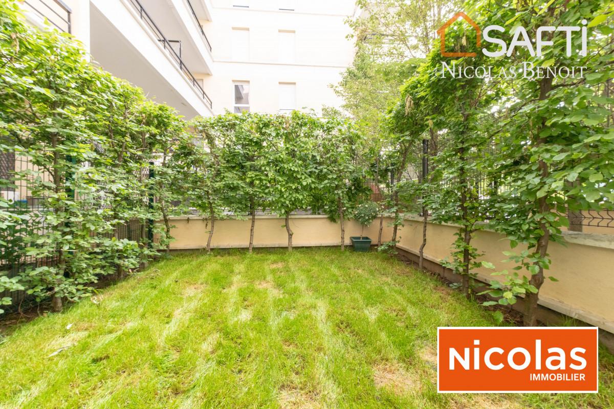 appartement Atlantis - Appartement de 90m2, 1 jardin et 1 terrasse exposés Sud