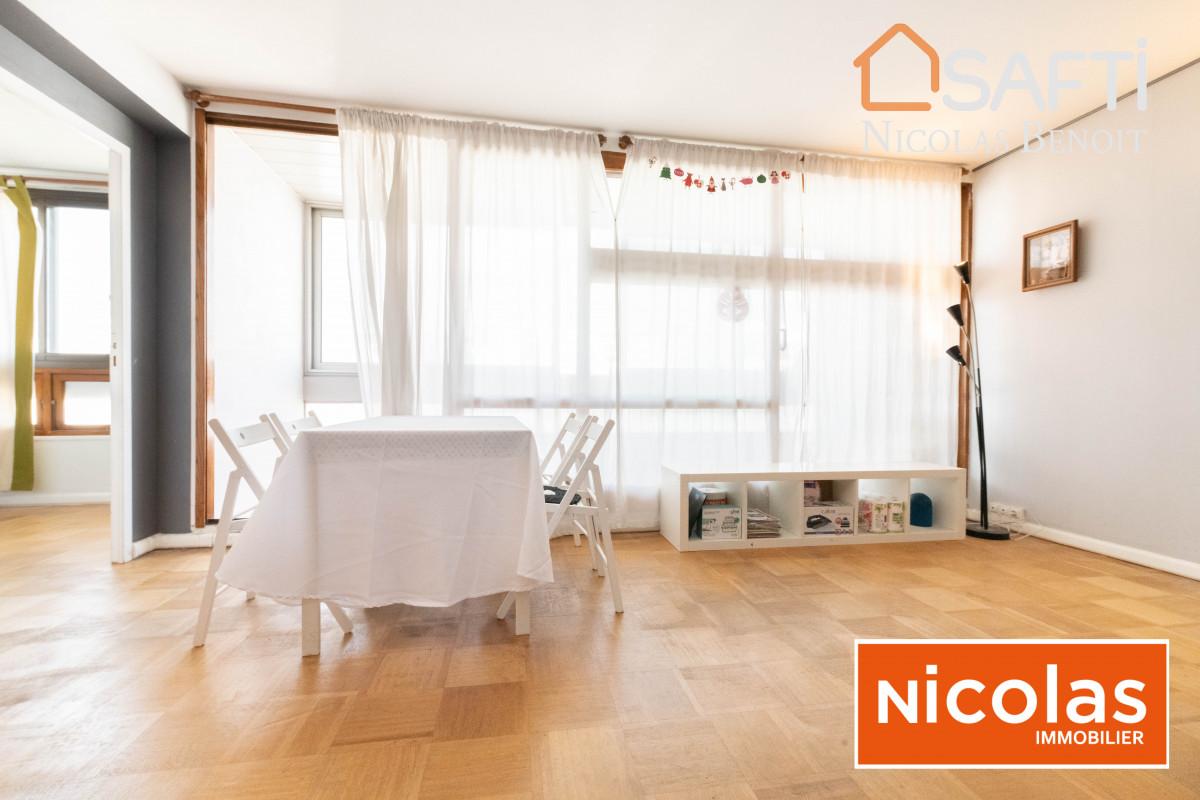 appartement NICOLAS - MASSY ATLANTIS, appartement 3 pièces dernier étage