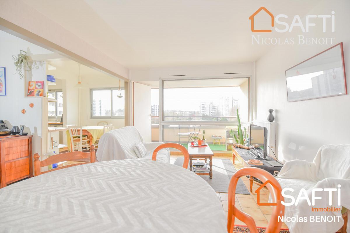 appartement Appartement 3 chambres, 82m2 avec balcon, cave et parking