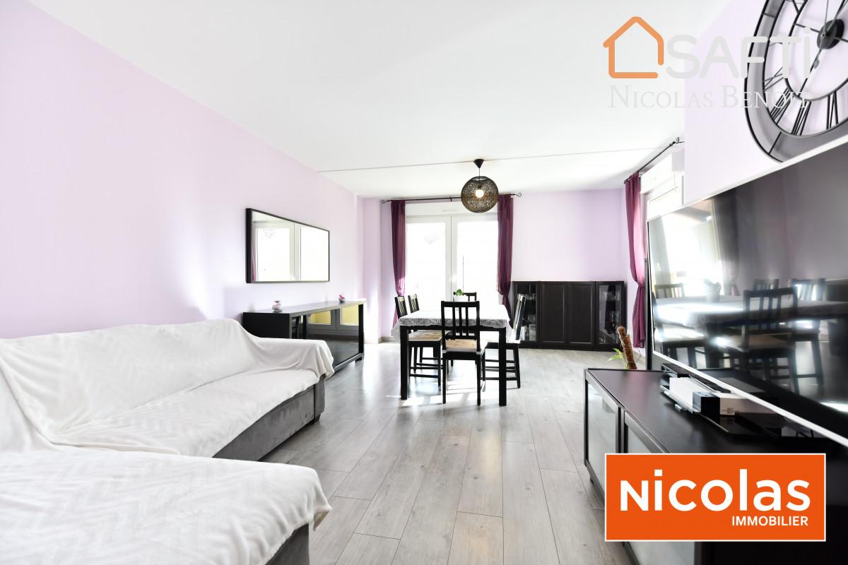 appartement Massy Pileu, appartement 4 pièces, 3 chambres, 86m2